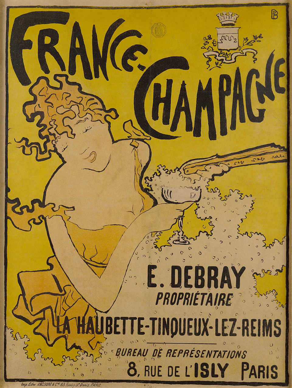 Pierre Bonnard: France-Champagne, 1891